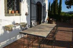 Tavolo con cementine/Table with sicilian tiles